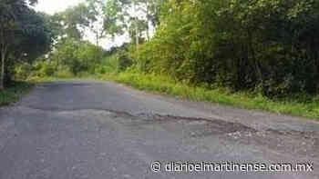 Carretera Misantla-Sarabia requiere ser reconstruida - Diario el Martinense