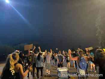Protest held Sunday night for man Phoenix police shot and killed in Maryvale