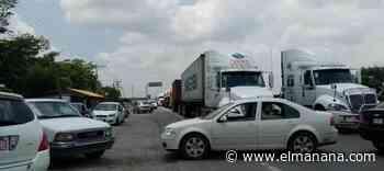 Bloquean carretera al demandar agua en Altamira - El Mañana de Reynosa