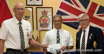 Royal Canadian Legion Branch #77 donates $5000 to The Health Foundation - Yorkton This Week