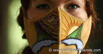 Beaded mask a source of power and strength for Cree artist - Yorkton This Week