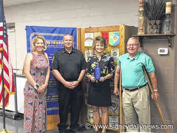 Arnett named Rotarian of the Year - sidneydailynews.com