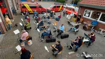 So probt der Musikzug der Freiwilligen Feuerwehr Ganderkesee - noz.de - Neue Osnabrücker Zeitung