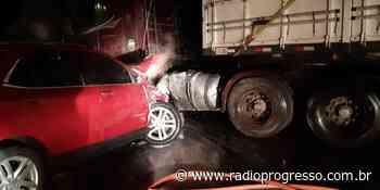 Acidente na ERS 332 entre Tapera e Espumoso deixa trânsito parcialmente bloqueado - Rádio Progresso de Ijuí