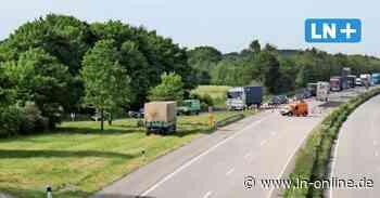 A1 zwischen Fehmarn und Lübeck gesperrt: Umleitung führt über B76 - Lübecker Nachrichten