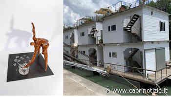 """Da Capri a Roma l'opera """"La Frustazione""""dello scultore Ciro de Riso a """"Bateau Tiberis"""" l'originale mostra collettiva sul barcone Gilda - Caprinotizie Ag/Promediacom"""