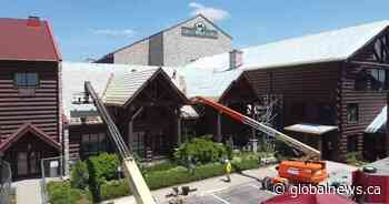 Niagara's Great Wolf Lodge using pandemic downtime to repair 'largest' shingled roof