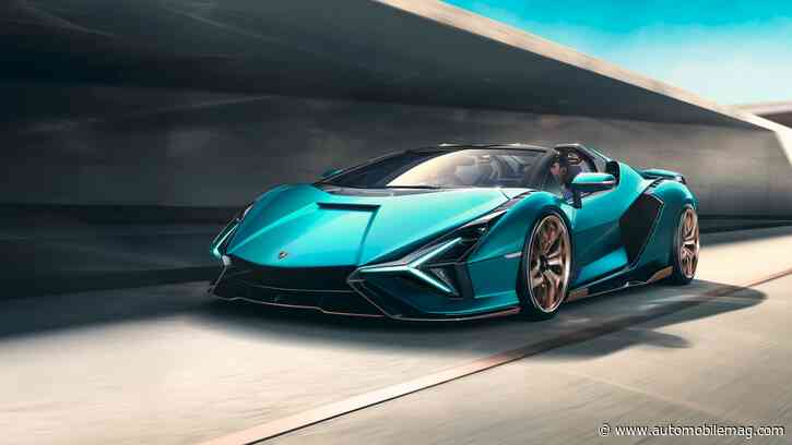 2021 Lamborghini Sián Roadster: 819 HP, 217 MPH, All Sold Out