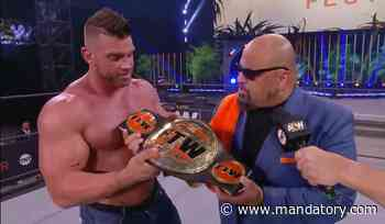 Taz Crowns Brian Cage The F— The World Champion