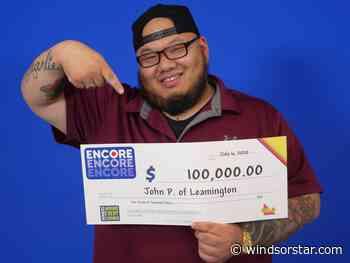 Leamington restaurant owner lands $100K Encore prize in Lotto Max win