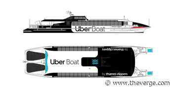 Uber to offer boat rides in London as new commuter service - The Verge