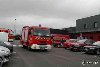 Vidéo. Sirènes hurlantes, les pompiers de Grandvilliers quittent leur ancienne caserne - actu.fr