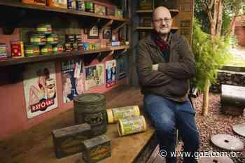 FOTOS E VÍDEOS: colecionador de Lajeado guarda latas dos mais variados itens - GAZ
