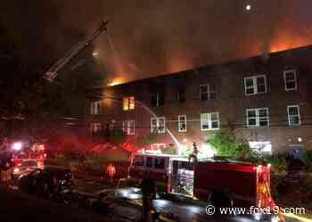 Dozens of firefighters respond to three-alarm fire in Walnut Hills - WXIX