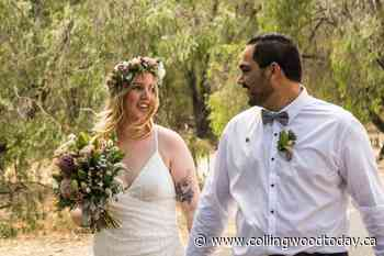 Newlyweds separated by COVID finally reunited in Thornbury - CollingwoodToday