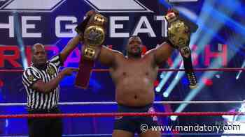 Keith Lee Beats Adam Cole, Wins NXT Championship At Great American Bash