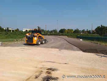 Carpi, ripresi i lavori alle curve pericolose sulla SP 468 per Correggio - Modena 2000