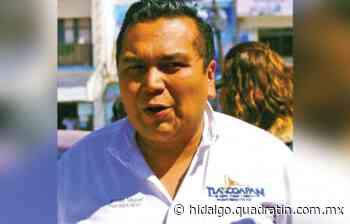 Alcalde de Tlaxcoapan se quiere ir sin pagar; transportistas bloquean ayuntamiento - Quadratín Hidalgo