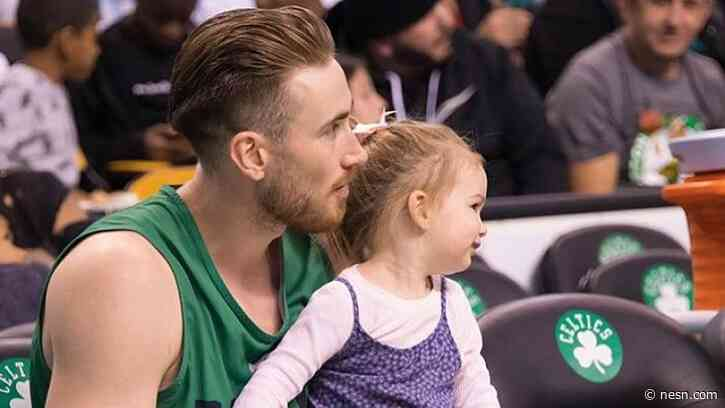 Gordon Hayward's Wife, Robyn, Posts Touching Message As Celtics Depart