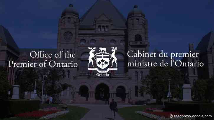 July 8, 2020 – Ontario Premier Doug Ford Media Conference
