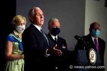 Pence says 'early indications' show COVID-19 prevention measures working in Florida