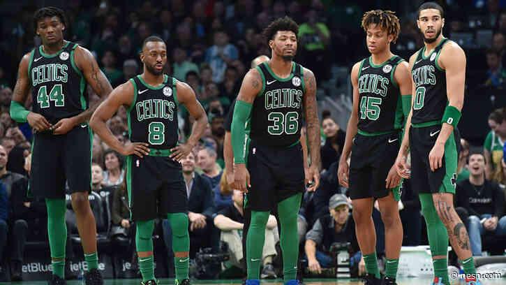 Boston Celtics Travel To Disney World Ahead Of NBA's Return To Play