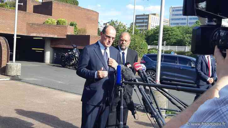 Au tribunal de Bobigny, Jean Castex promet d'augmenter les moyens de la justice - France Bleu