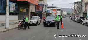 El control vehicular se mantiene en las calles de Portoviejo - El Diario Ecuador