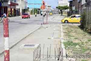 Le exigen al Municipio de Portoviejo que asfalte las nueve manzanas del centro - El Diario Ecuador