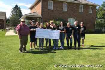 Stanley Humphries school graduates donate $7500 to various organizations - Castlegar News