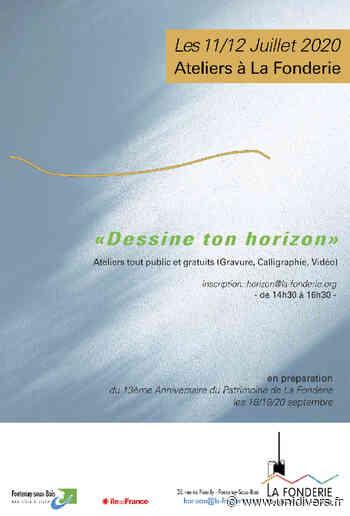 Dessine ton horizon La Fonderie Pôle de création artistique samedi 11 juillet 2020 - Unidivers