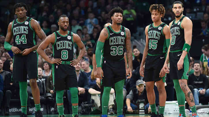 Check Out Photos, Video Of Celtics Traveling To Orlando For NBA's Return