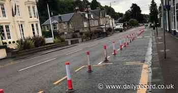 Council apologises for 'unforgivable oversight' over Bridge of Allan bollards - Daily Record