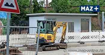 Oranienburg: WC-Haus am Bahnhof in Wartestellung - Märkische Allgemeine Zeitung