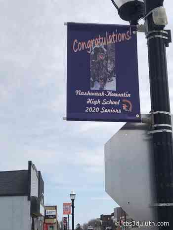Nashwauk-Keewatin High School honors seniors through banners - CBS 3 Duluth