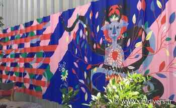 Fresque murale collective augmentée Siana lundi 17 août 2020 - Unidivers