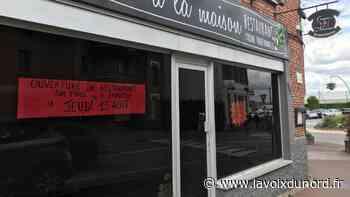 Linselles: le restaurant Comme à la maison rouvrira le 13 août - La Voix du Nord