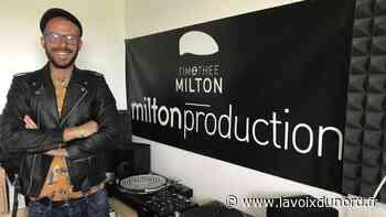 Linselles: DJ, il sort un album dont la vente financera des repas pour des SDF - La Voix du Nord