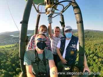 Hilchenbacher Ballonsportler werden älter: Abenteurer fahren auf Sicht - Hilchenbach - Siegener Zeitung