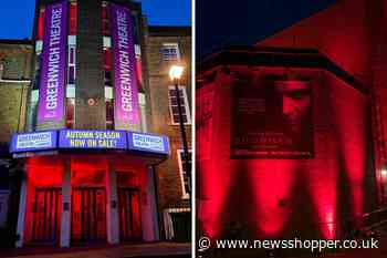 Greenwich and Dartford theatres light up in 'emergency red'