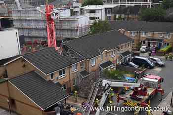 Dozens forced to leave their homes after fatal crane collapse - Hillingdon Times