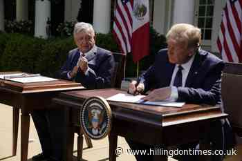 Donald Trump claims improved ties as he hosts Mexico's president - Hillingdon Times