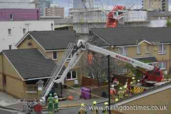Elderly woman rescued by locals after crane collapsed on house – eyewitness - Hillingdon Times
