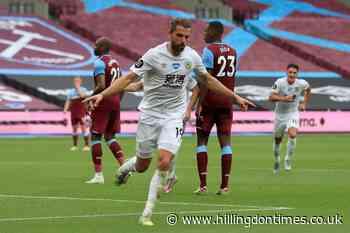 Jay Rodriguez nets winner as Burnley beat relegation-battling West Ham - Hillingdon Times
