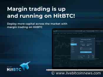 HitBTC Now Offers Margin Trading, iOS Application Released - Live Bitcoin News