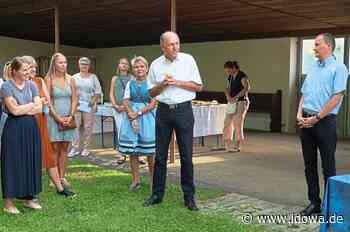 Alteglofsheim: Die Gläubigen feierten mit Pfarrer Matthias Kienberger - idowa