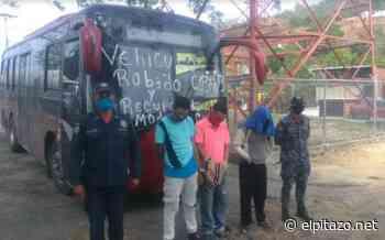 PNB-Cúpira recupera autobús robado en Guarenas y detiene a responsables - El Pitazo
