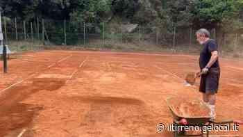 Quasi pronto il campo da tennis alla Brunella - Il Tirreno