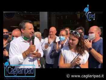 A Massa Salvini insieme a Susanna Ceccardi e al sindaco Francesco Persiani - Cagliaripad