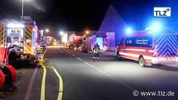 Nächtlicher Gefahrguteinsatz in Heiligenstadt - Thüringische Landeszeitung